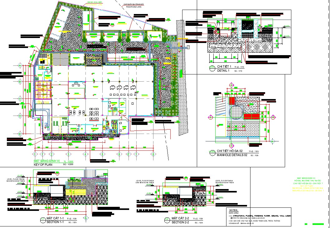 Car showroom plan in AutoCAD file