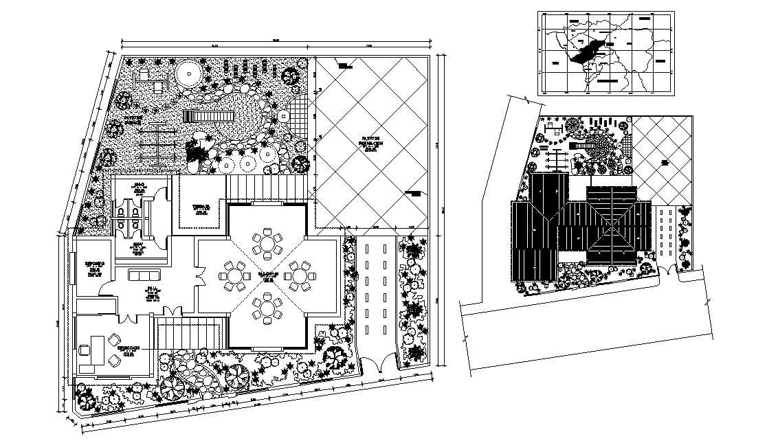 Kindergarten layout in autocad