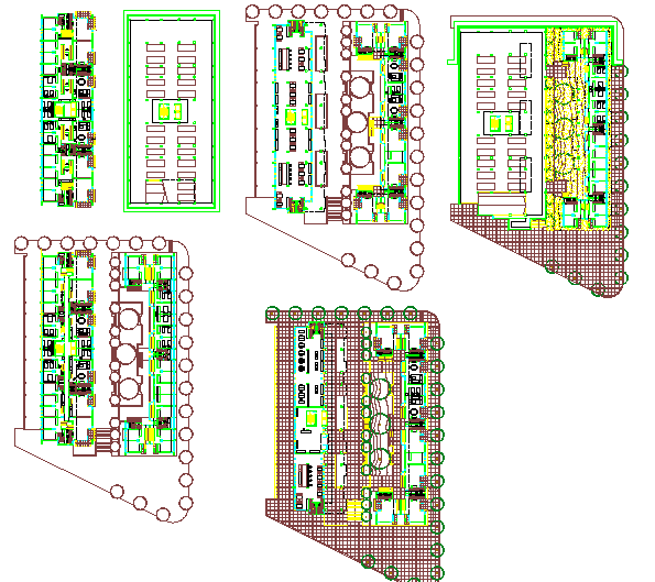 Layout of an office