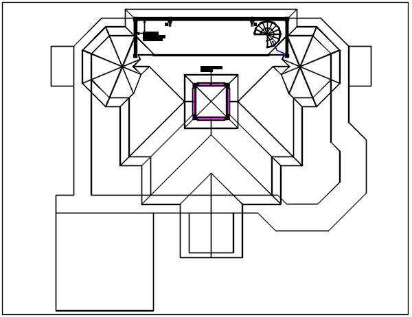Layout plan detail of the plot area plan details dwg files