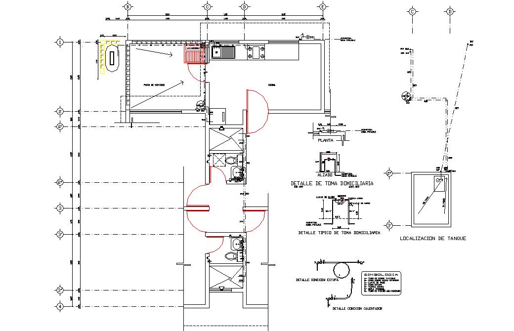 Layout plot planning detail layout file