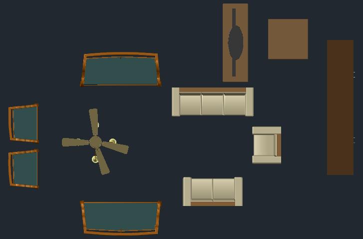 Living room equipments