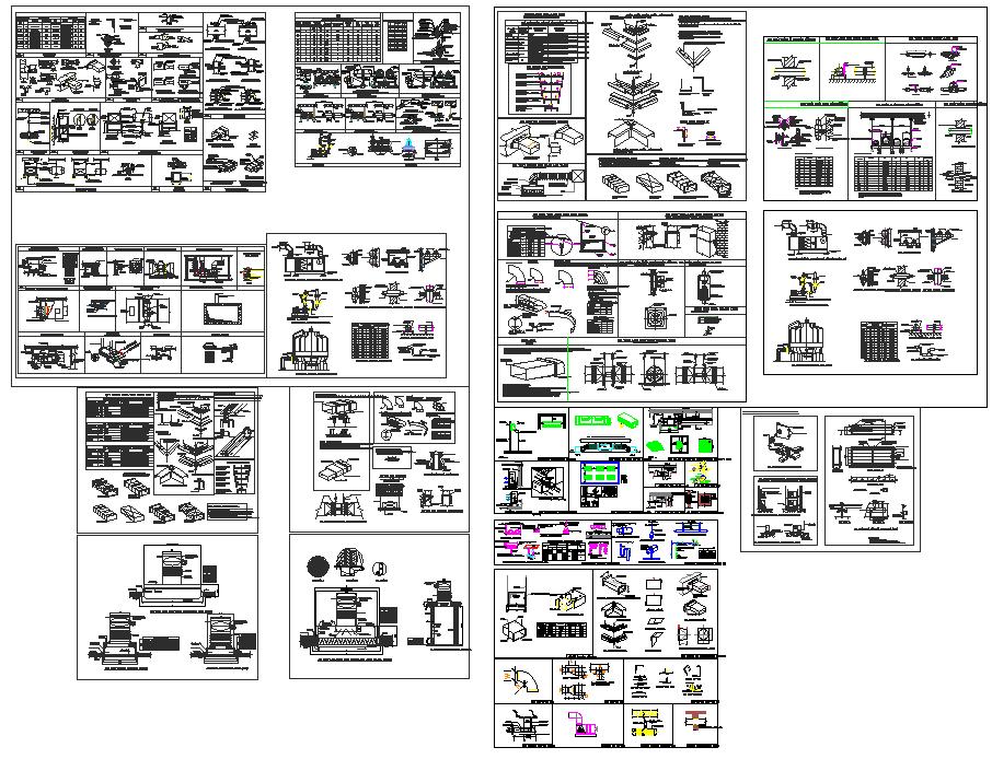 Mechanical unit electrical unit plan detail view dwg file