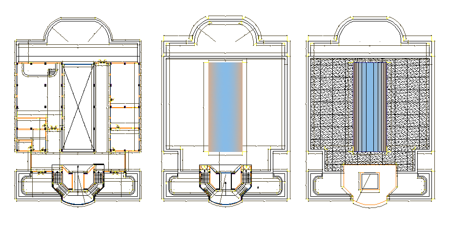 Medical university layout plan