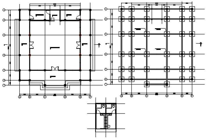 Mosque layout in AutoCAD