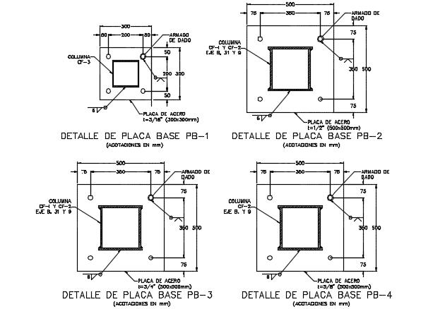 Motherboard detail dwg file
