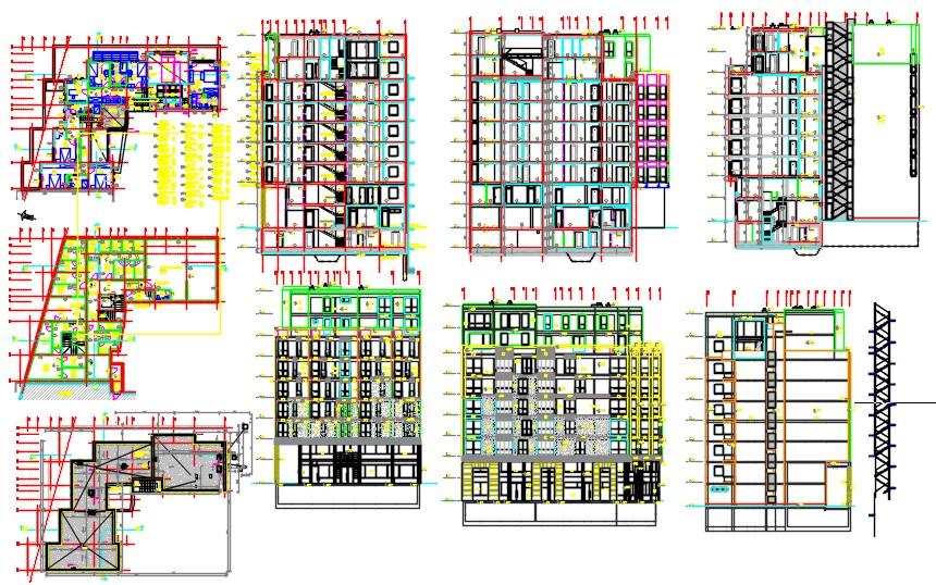 Multi family building