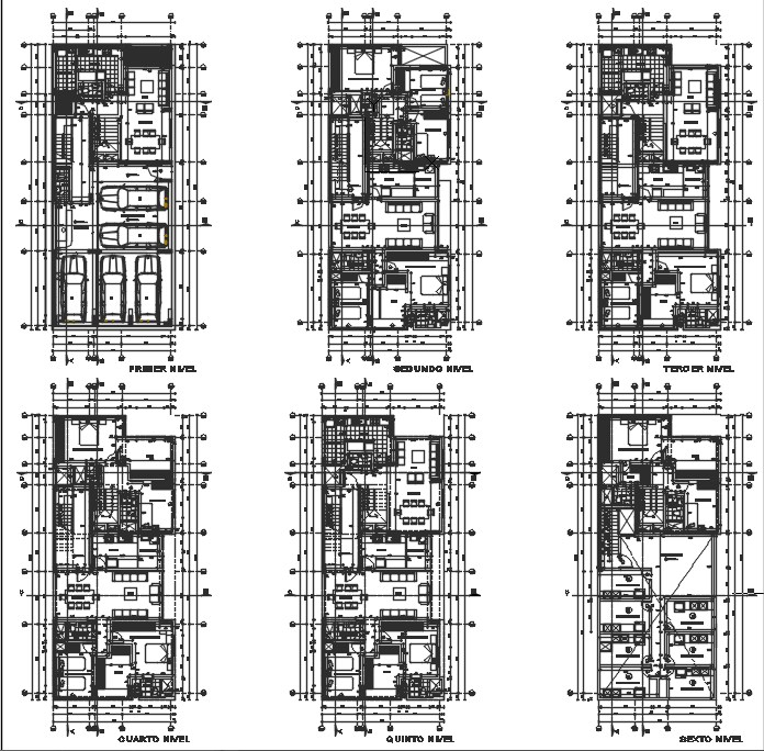 Multi family building plan.