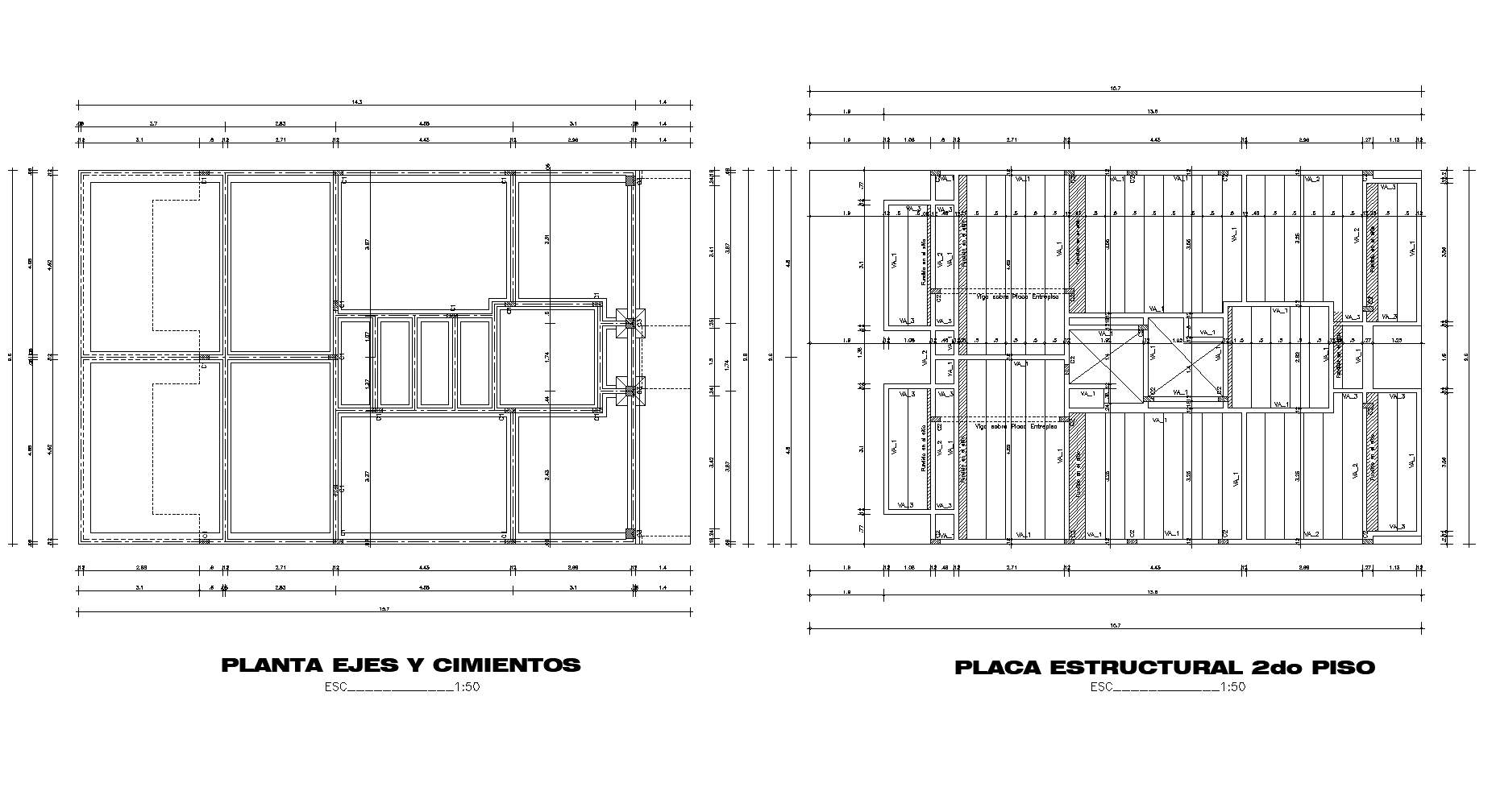 Multi-family loft plan detail dwg file.