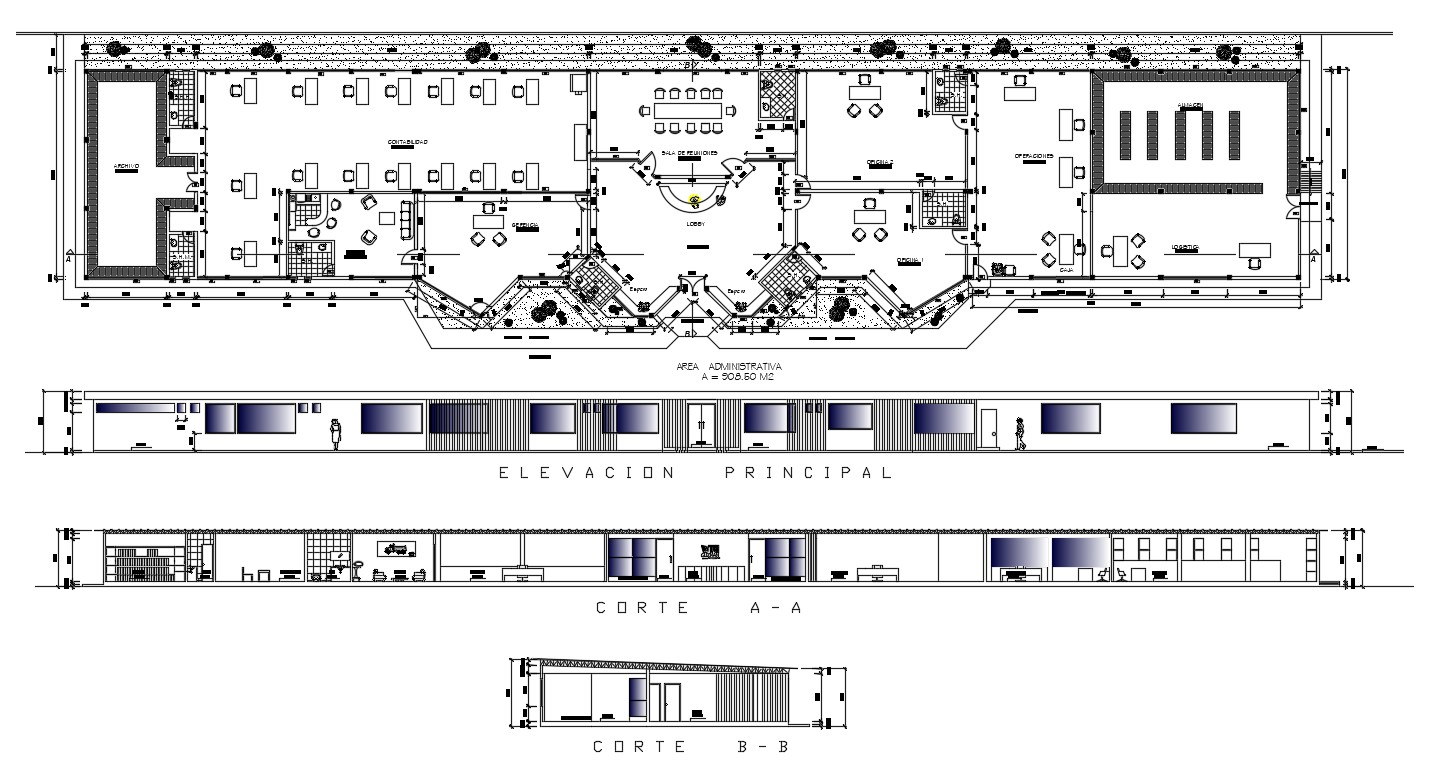 Office Administration Project DWG