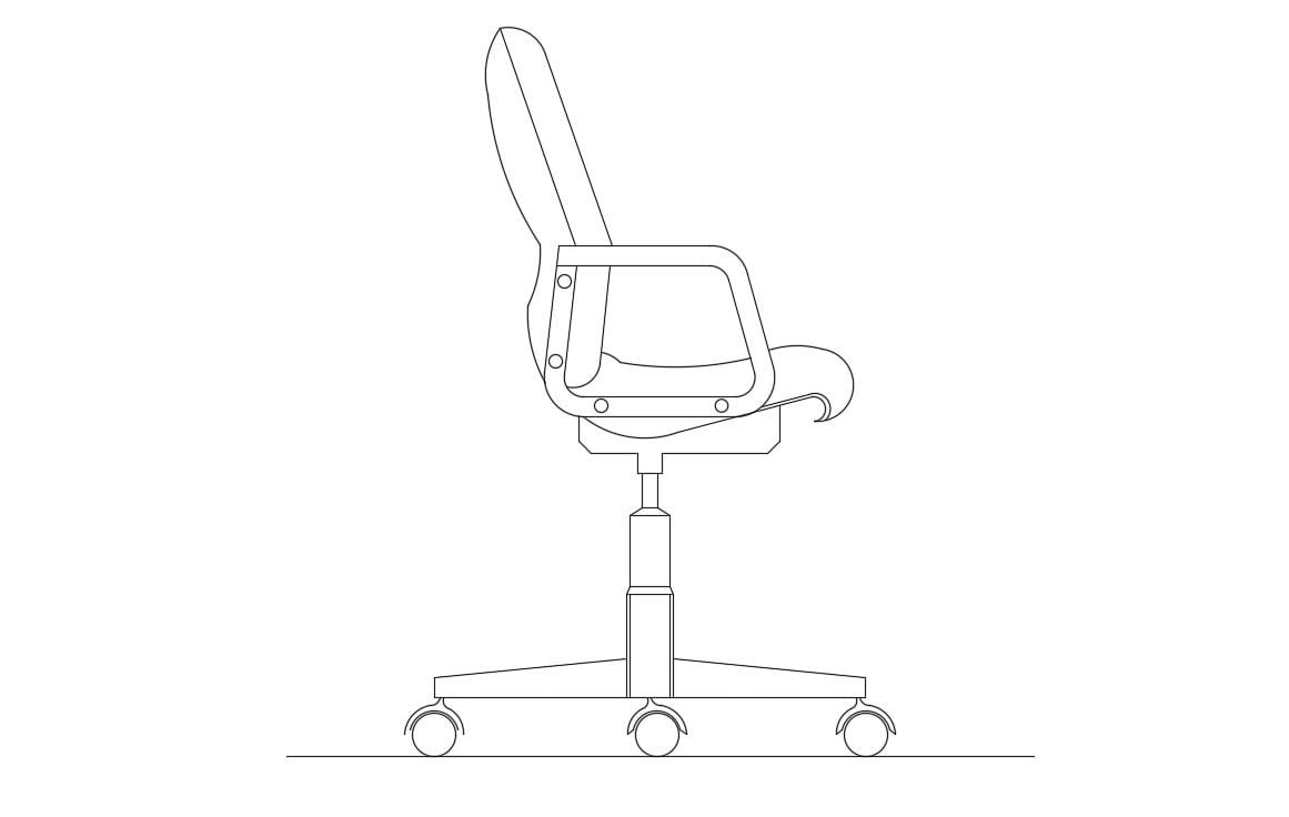Miraculous Office Chair Cad Block Free Download Creativecarmelina Interior Chair Design Creativecarmelinacom