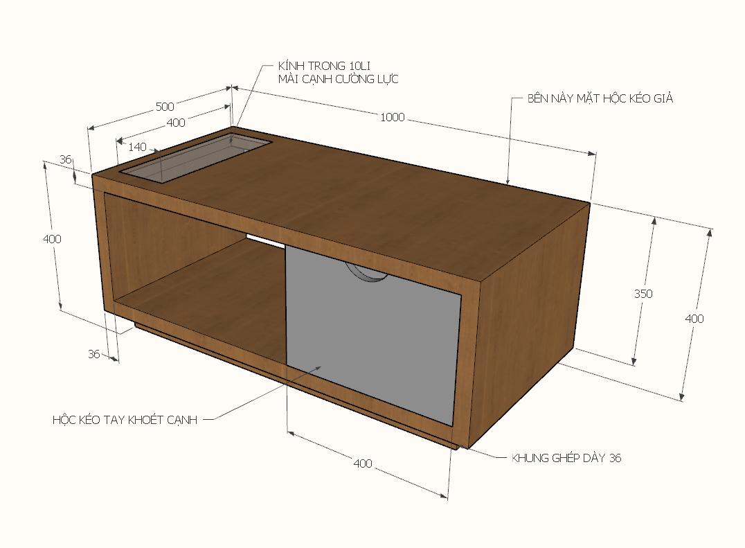 Office desk table 3d view skp file