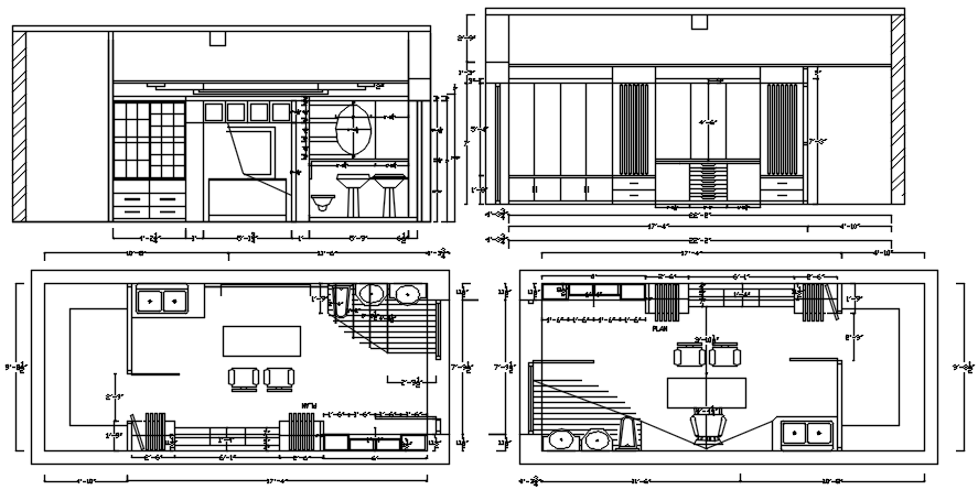 Workplace Plan CAD Drawings