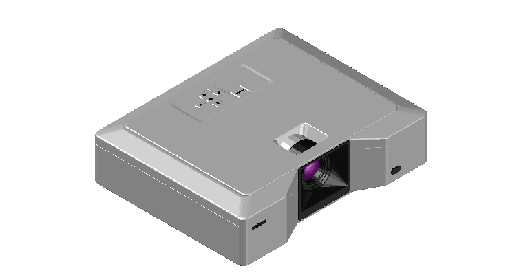 Office projector 3d file