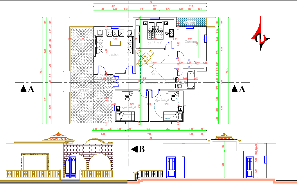 One Level House project