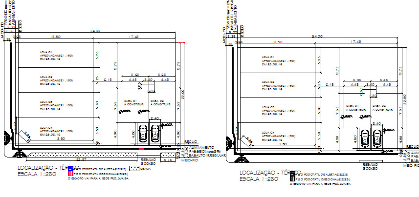 One family house structure details dwg file