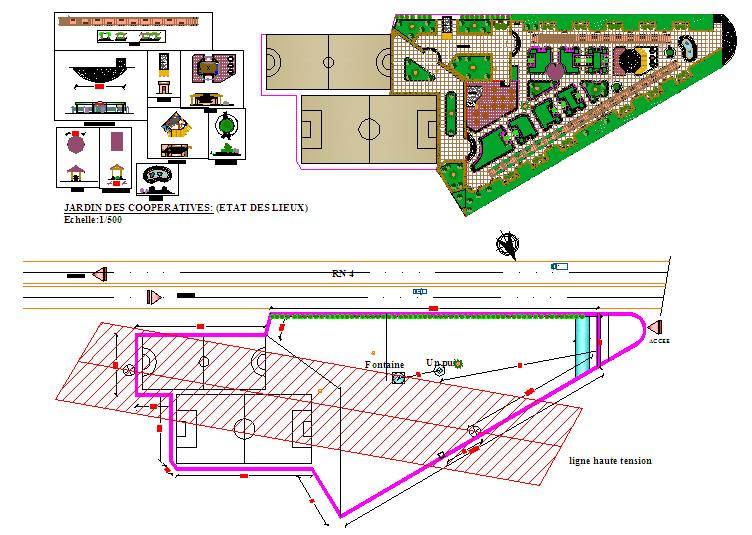 Park & Sport Center Architecture Design