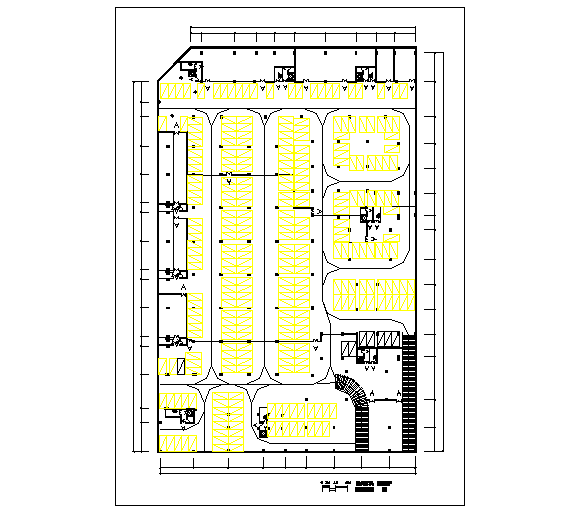 Parking Construction Area Lay-out