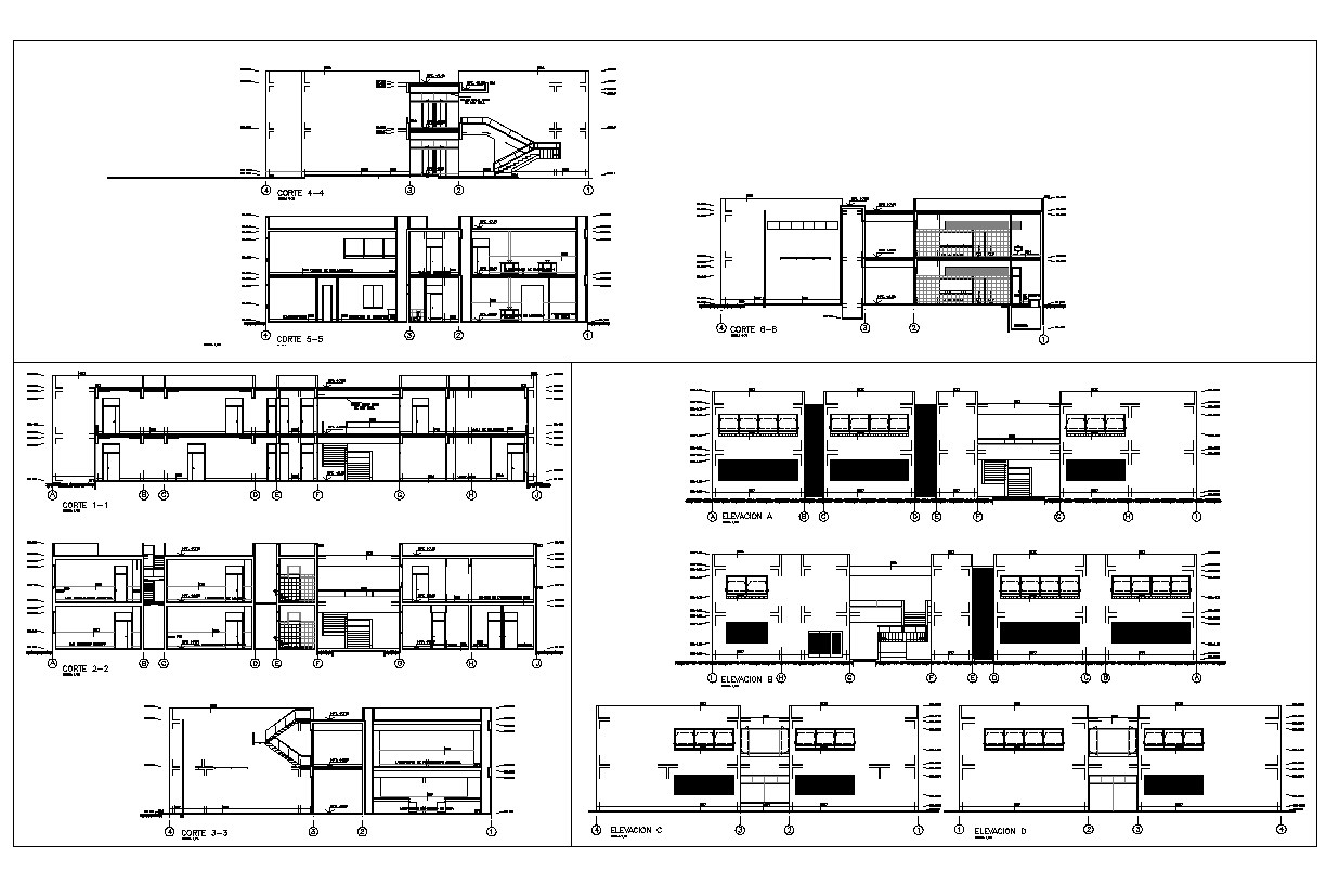 Pavilions Architecture Detail and design in autocad