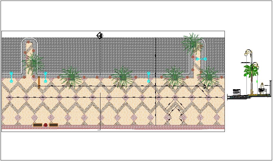 Paving design construction detail dwg file