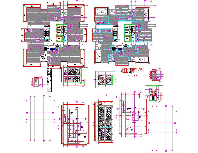 Penthouse flooring details