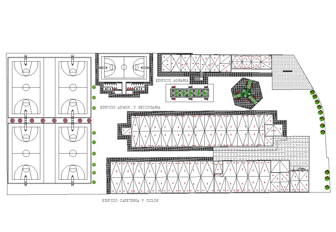 Plan detail dwg file
