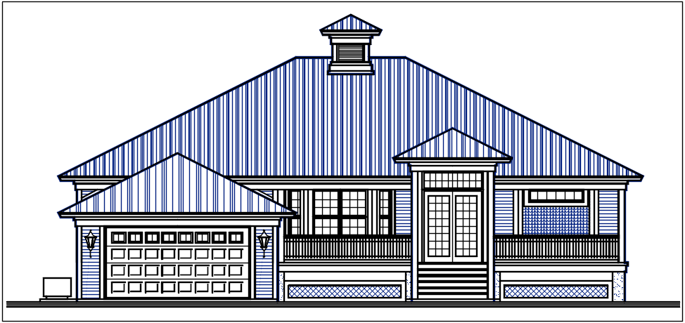 Plan elevation detail dwg files