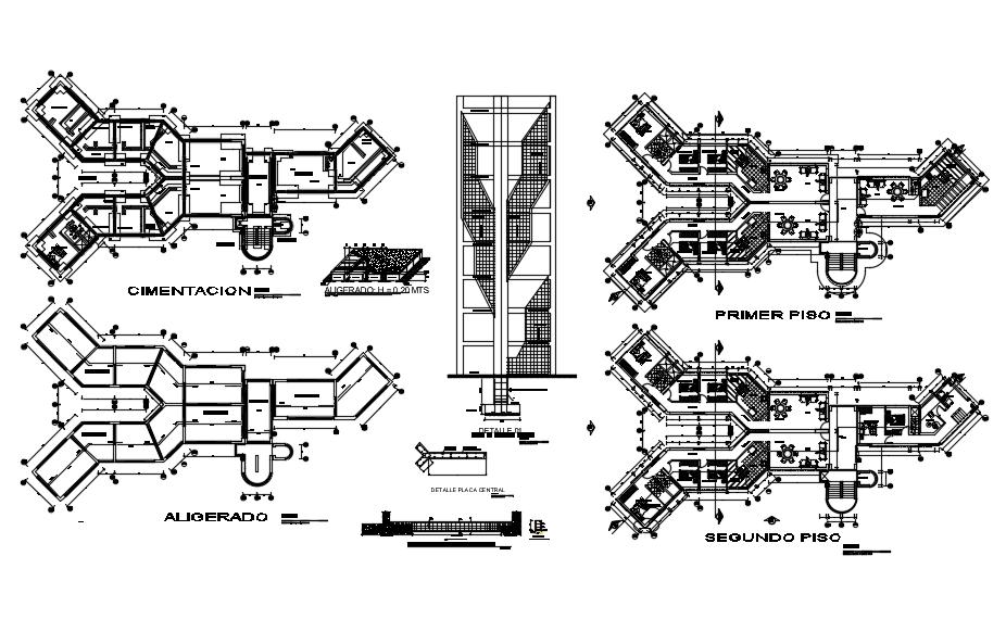 Apartment Building Design Architecture Plan