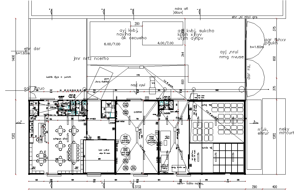 Planing Wine makingplant andvisitor scenter aradisrael detail dwg file,