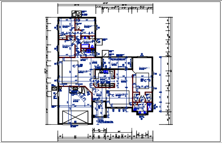 Planning with ground floor and terries plan dwg file