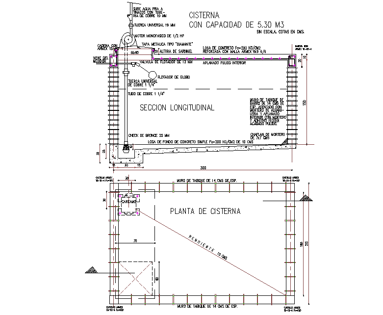 Planted by the tanker detail dwg file