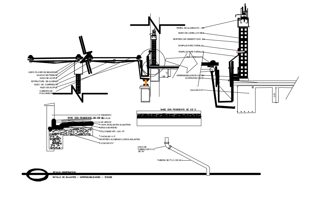 Plumbing Details In CAD Drawings