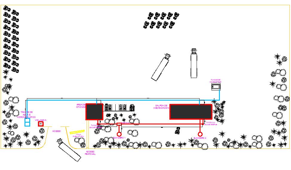 Plumbing plan detail dwg file