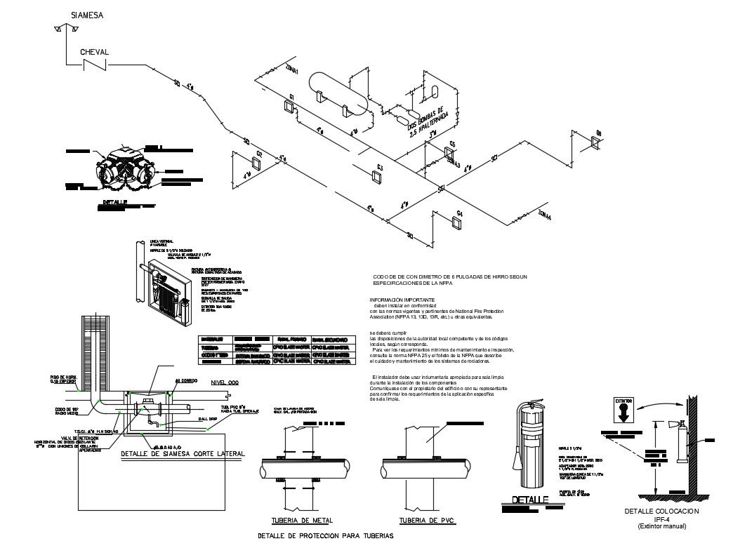 Pool Details For Storage Tanks And Cabinet System Cad