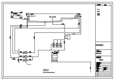 Pool system diagram design drawing