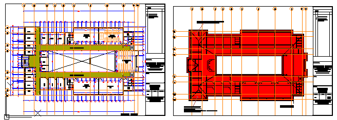 Proposed Layout of laboratory block design
