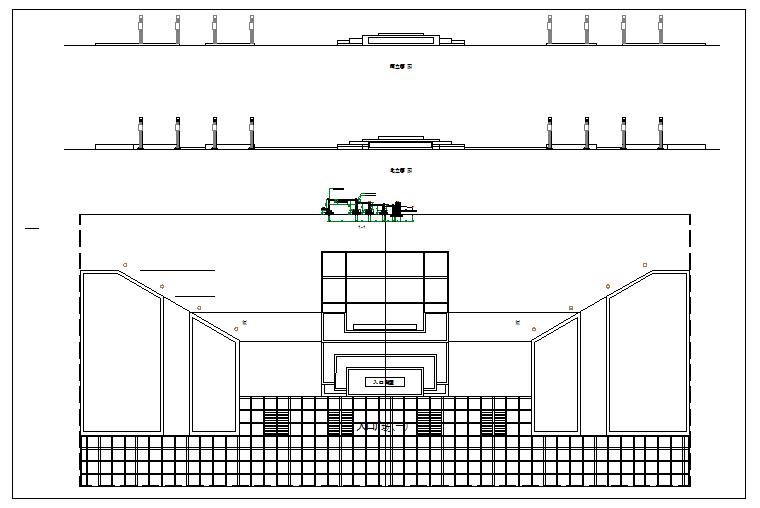 Public plaza architecture Design