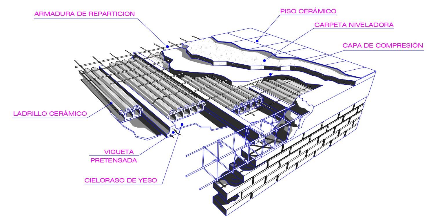 RCC Roof Slab Reinforcement Details CAD Drawing