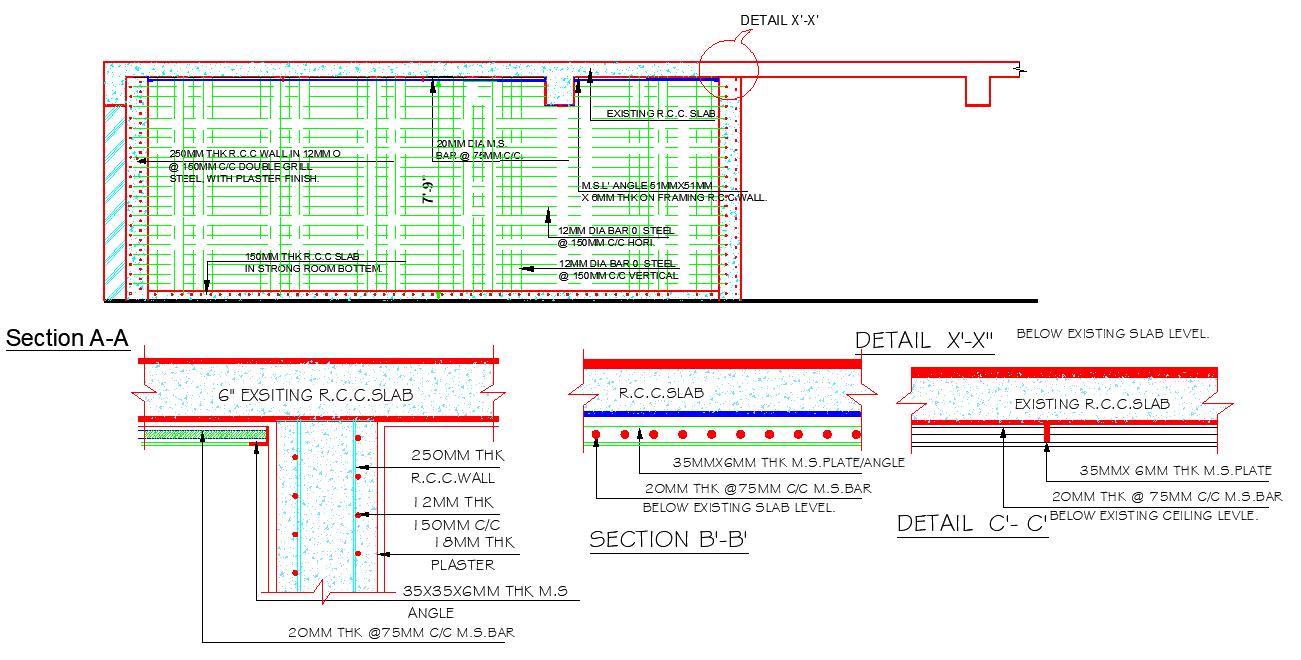 RCC Slab Detail