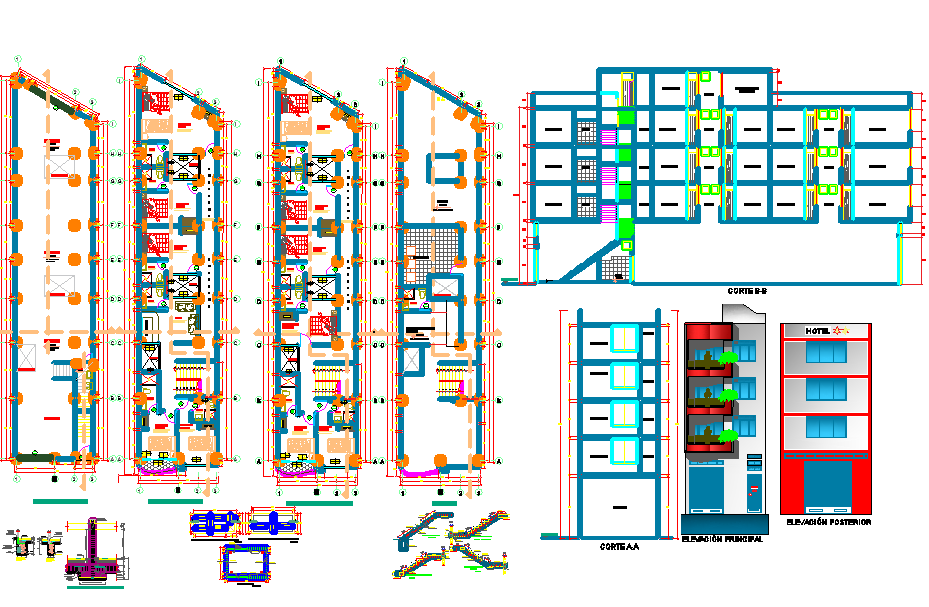Residence Layout plan of House