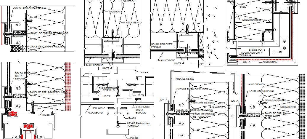 Residential building electrical installation details dwg file