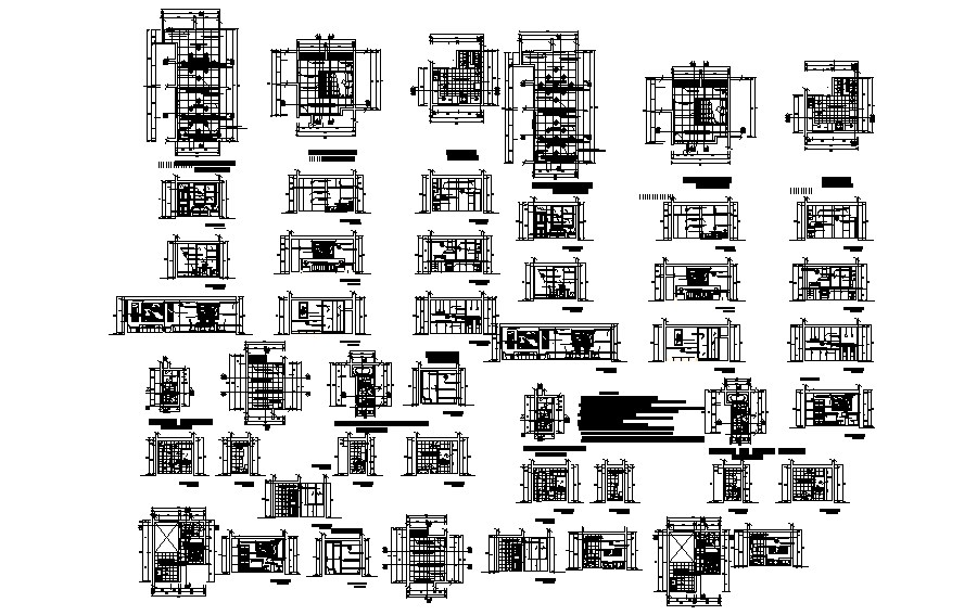 Residential House Drawing In DWG File