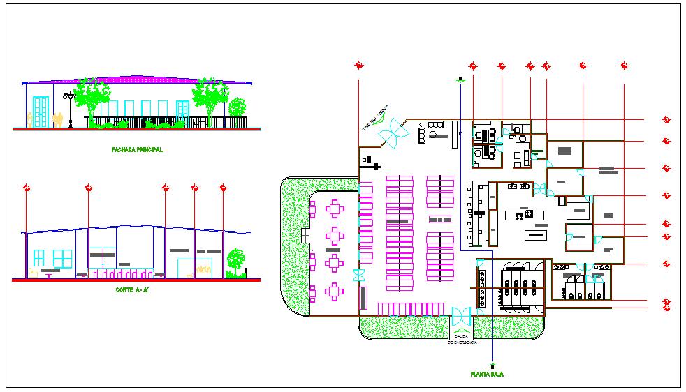 Restaurant designing