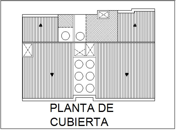 Roof plan detail dwg file