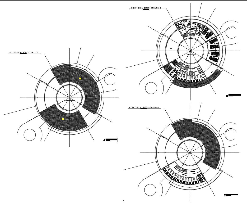 School Plan Drawings CAD File