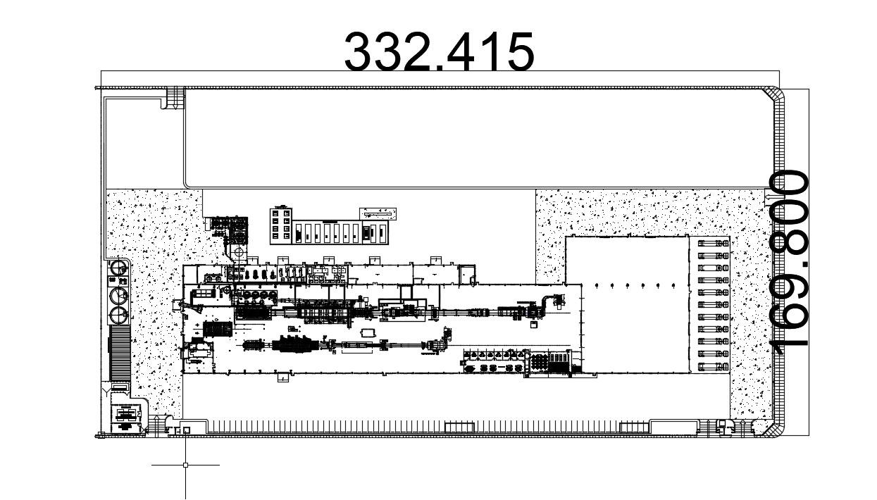 School layout plan in AutoCAD file