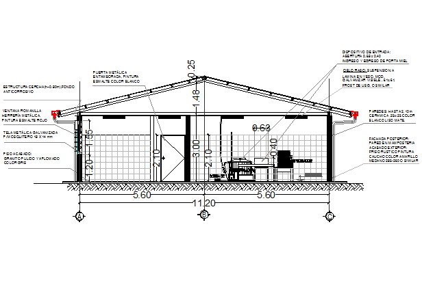Section detailing dwg file