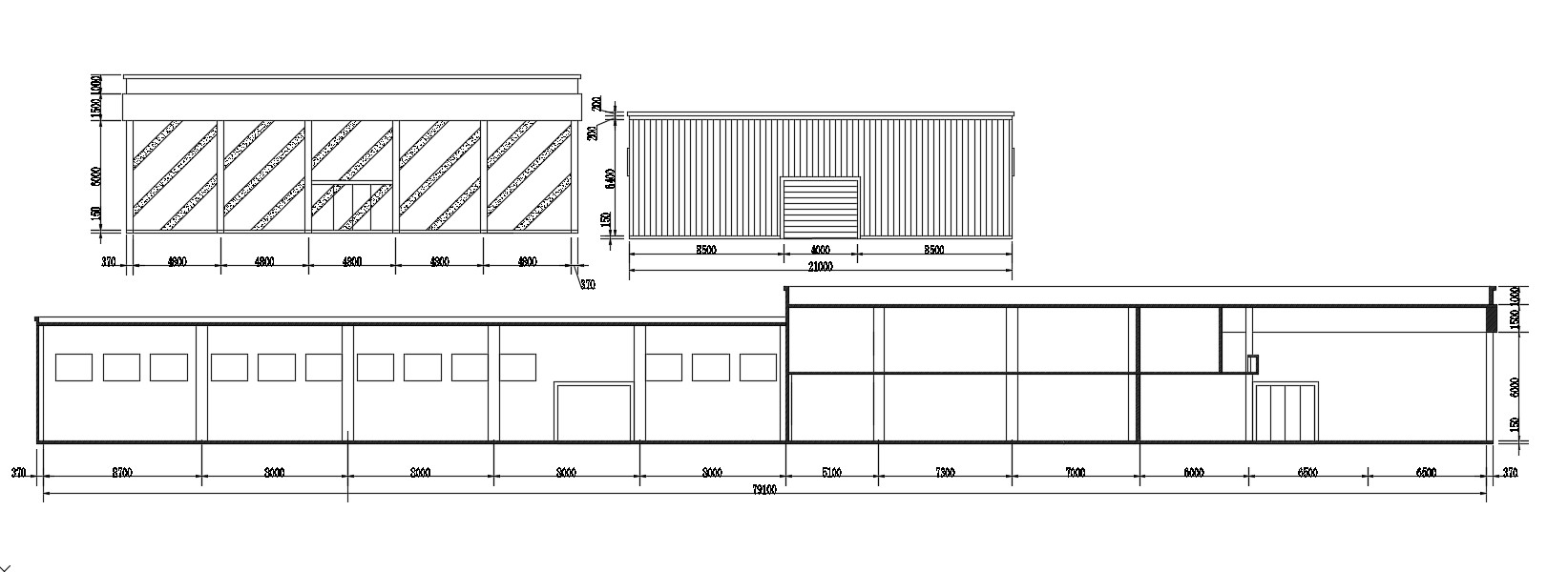 Simple Elevation Of factory AutoCAD File Free Download