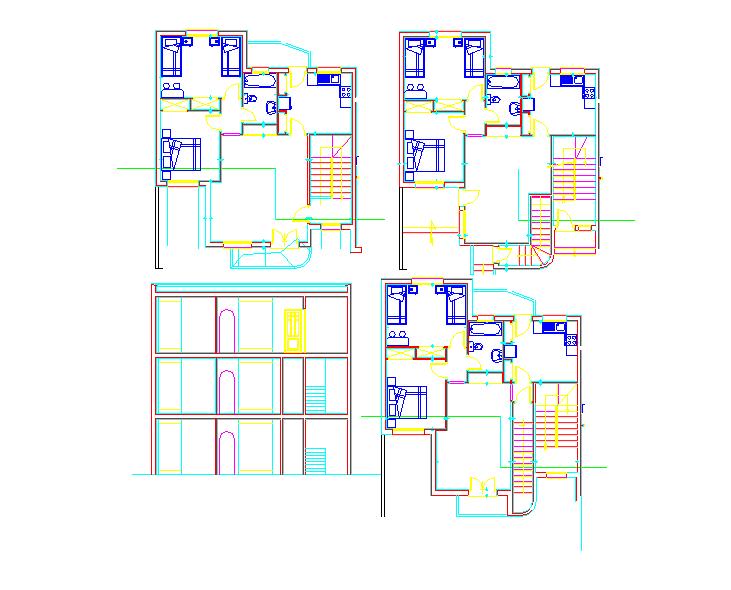 Simple House Plan detail