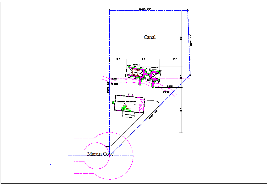 Site map location of wooden structure plan view detail dwg file